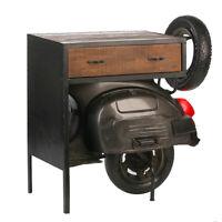 Kommode Roller Casablanca 90cm Metall Regal Beistelltisch Tisch Vespa Motorrad