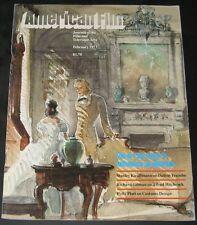 American Film February 1977-Art Directors Influence on Movies