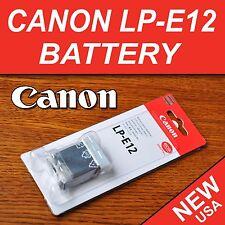 Brand New LP-E12 Battery for Canon EOS 100D, EOS-M, EOS M, Rebel SL1 Camera