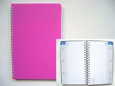Taschentimer !! 2017 !! Spiralbindung Mini-Tischkalender ca. A6 Hochformat pink