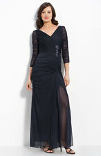 NWOT ink  Adrianna Papell Beaded Mesh Gown size 18W