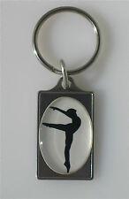 Ballet Dancer Key Chain