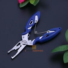 Stainless Steel Fishing Pliers Split Scissors Wire Line Cutter Hook Remover Tool
