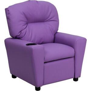 Flash Furniture Lavender Kids Recliner, Lavender - BT-7950-KID-LAV-GG
