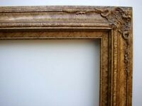 """Picture Frame Fancy Gold & Marble Antiqued For 20""""  X  24"""" Oil Painting Or Print"""
