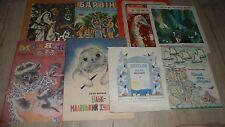 Lot 8 livres jeunesses / enfants en RUSSE - années 80 - BE
