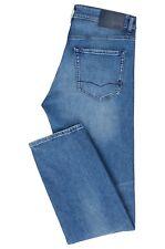 Hugo Boss Maine BC-C Regular-fit Jeans in comfort-stretch Stonewashed Denim Blue