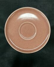 """RUSSEL WRIGHT Steubenville Coral Saucer American Modern 5 3/4"""""""