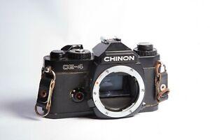 Chinon CE-4 | Black | Body Only | Vintage film camera
