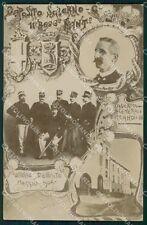 Militari 11º Reggimento Fanteria Salerno Caserma Carrano Foto cartolina XF4419