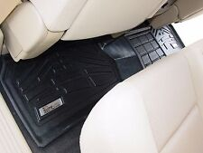 Second Row Black Floor Mat for a 2007 - 2014 GMC Sierra Extended Cab