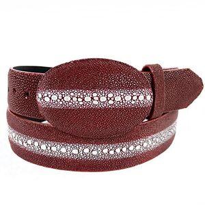 Men's Los Altos Genuine Stingray Rowstone Western Cowboy Belt Handmade