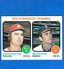 New listing 1973 Topps NOLAN RYAN S Carlton 1972 K's Leaders #67 EXMT Set Break S&H FREE