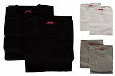 Paquete 2 t-shirt hombre algodón camiseta de manga corta cuello redondo bipack R