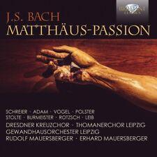 DRESDNER KREUZCHOR/THOMANERCHOR LEIPZIG/GOL - MATTHÄUS-PASSION 3 CD NEUF