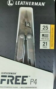 Leatherman Multitools Free P4. New And Genuine. Retail 137$