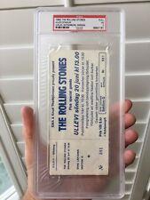 Full 1982 Rolling Stones Concert Ticket Gothenburg Sweden Jagger Richards PSA 3