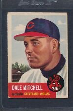 1953 Topps #026 Dale Mitchell Indians VG *2265