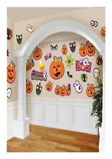 Cut Out Decorations Cute Halloween Characters 30 Pack Halloween Party P9800