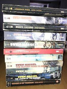 11 Sven Hassel Books