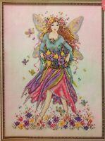 Fantasy Rainbow Flower Fairy By Joan Elliott Cross Stitch Chart