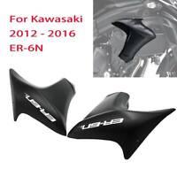 Injection Left Right Radiator Cover Panel Fairing For Kawasaki 2012 - 2016 ER-6N