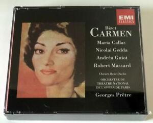 Bizet Carmen Maria Callas 2xCD EMI 1991 D 201495 SEALED