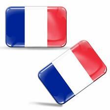 3D Gel Aufkleber Frankreich Fahne Französische Flagge France Flag French Sticker
