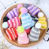 10Pcs Color Cute Knitting Mini Hats DIY Craft Supplie Headwear Toys DecortionTSJ