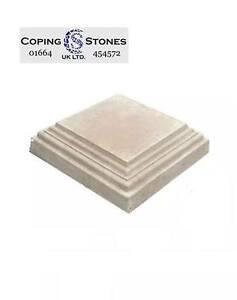 Fluted Edge Flat Top 520mm x 520mm Pier Cap (Various Colours Available)