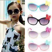 1Pcs Anti-UV Sunglasses Kids Boys Baby Girls Cartoon 6 Color Goggle Glasses Bow