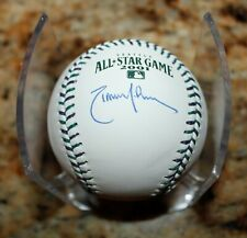 RANDY JOHNSON ASG 2001 CUBED SIGNED AUTOGRAPHED AUTHENTICATED MLB BASEBALL COA