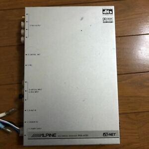Used ALPINE PXA-H701 MULTIMEDIA MANAGER car audio