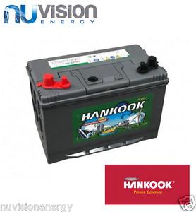 Hankook Deep Cycle Leisure Marine Battery 90Ah Sealed Lead Calcium 12v 2 Years