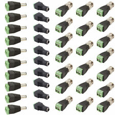 10 Set CAT5 TO BNC Passive Video and Power Balun Transceiver for CCTV