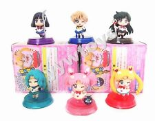 Set 6 Anime Sailor Moon Toy Figure Super Salior Chibi Moon New In Box