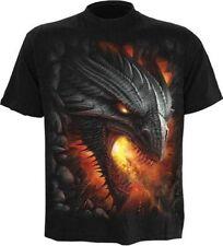 M Spiral bequem sitzende Herren-T-Shirts
