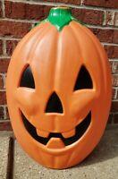 "Vintage Sun Hill 20"" Lighted Halloween Jack-O-Lantern Pumpkin Blow Mold Decor"