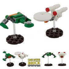LEGO Custom Enterprise / Bird of Prey Star Trek Tribute Spaceship model kits New