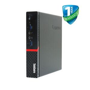 Lenovo ThinkCentre M700 Tiny Desktop PC Intel i5 6th Gen 8GB RAM 128GB 240GB SSD