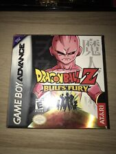 Dragon Ball Z Buu's Fury Gameboy Advance New Factory Sealed GBA! (Very Rare)