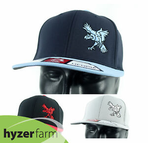 INNOVA ROC Uform Flatbill FlexFit Hat *pick color/size* Hyzer Farm disc golf cap