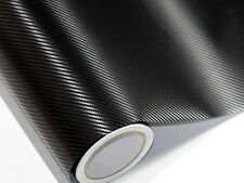 3D Film de Carbone Noir 20 Mètre X 152 CM sans Bulles Conduits D'Air 0,16mm Caq