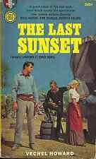 THE LAST SUNSET Vechel Howard - KIRK DOUGLAS, ROCK HUDSON & DOROTHY MALONE COVER