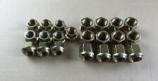 Kugelbundmuttern Radmuttern M14 + M18 gelb verzinkt passend zu  Deutz F1 F2 D25