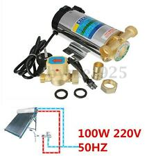220 V 100W 50HZ Water Shower Automatic Booster Pump Gravity Fed System 10L/min