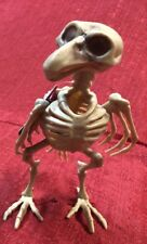 Skeleton Bird Raven Crow Plastic Halloween Decor Decoration Dead Bones