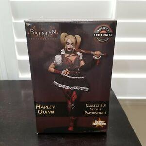 DC Comics Arkham Knight Harley Quinn Statue GameStop Exclusive ARTIST PROOF #12