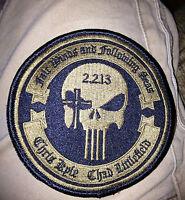 "Craft International 4"" Memorial Patch 2.2.13 Chris Kyle Chad Littlefield"