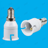 Small Edison Screw SES E14 To Bayonet BC B22 Light Bulb Adaptor Lamp Holder